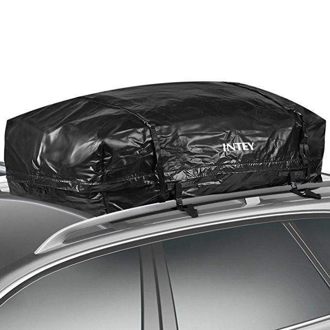 Intey Cargo Bag Rooftop Cargo Carrier Waterproof Car Roof Storage 20 Cubic Feet For Car Van And Suv Car Roof Storage Cargo Carrier Waterproof Car
