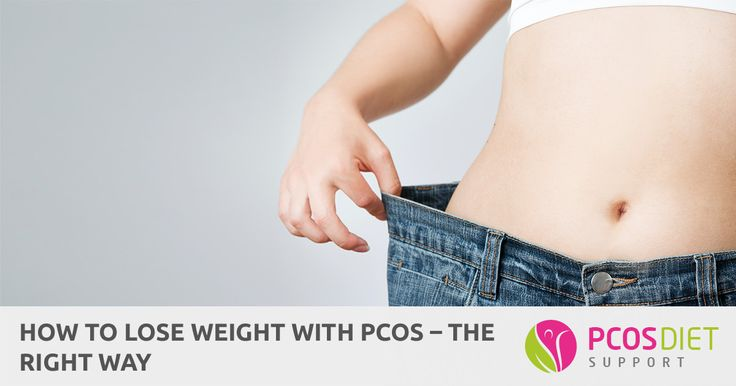 We all know weight loss is important but we don't always know how to lose weight with PCOS. Here are some proven ways...