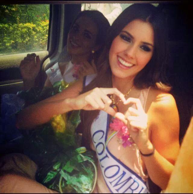 Miss Colombia 2014; Paulina Vega Dieppa.