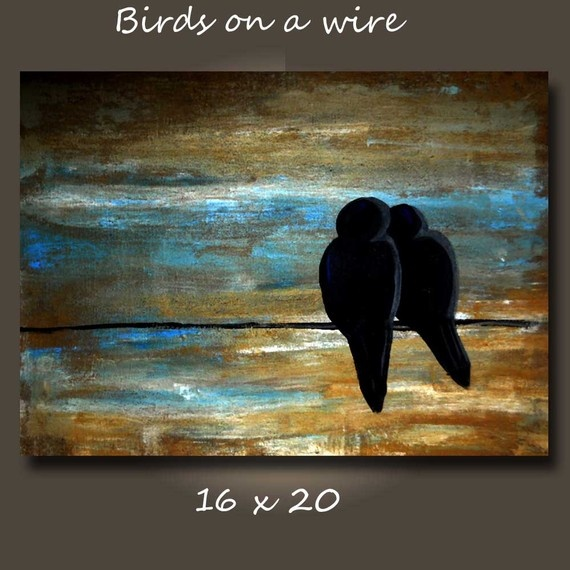 Cute snuggly birds: Canvas Paintings, Arts Crafts, Art Inspiration, Beautiful, Art Ideas, Painting Birds, Wire 16, Craft Ideas