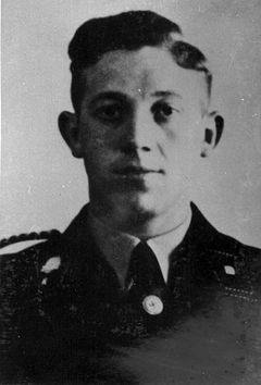 Johann Niemann (4 August 1913 — 14 October 1943) was an SS-Untersturmführer (Second Lieutenant) and deputy commandant of Sobibor extermination camp. Niemann directly perpetrated the genocide of Jews and other peoples at Sobibor during the Operation Reinhard phase of The Holocaust.