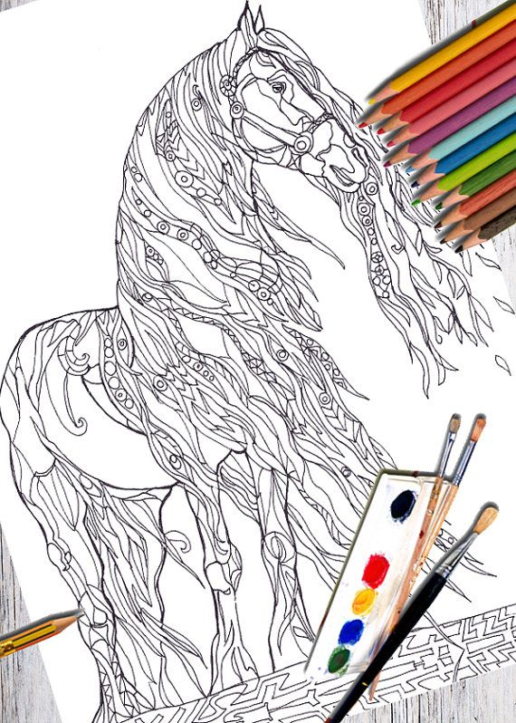 81 best Coloring pages images on Pinterest | Coloring books, Adult ...