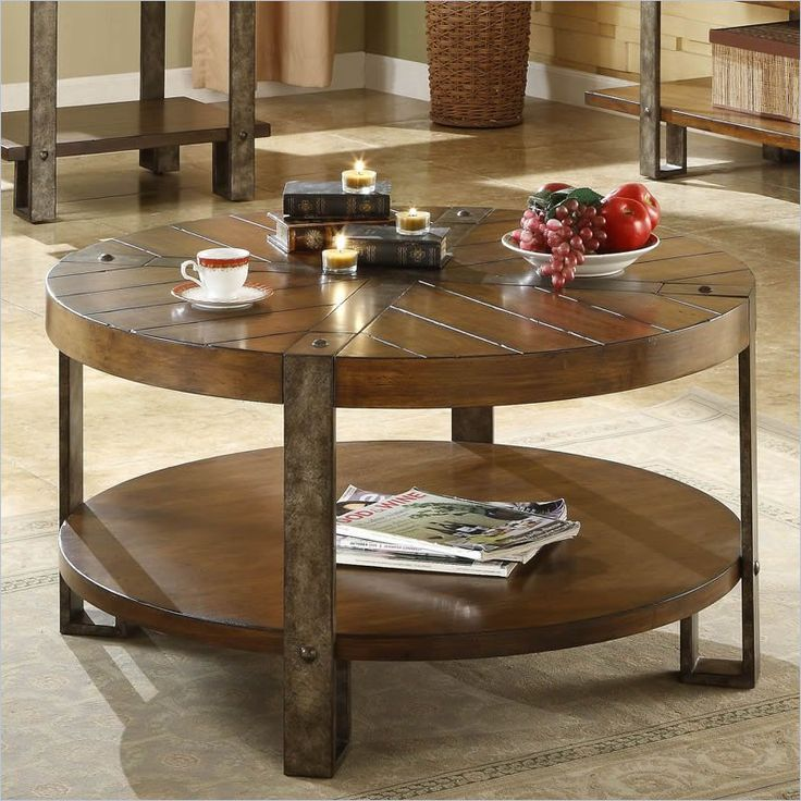 Rustic Round Coffee Tables