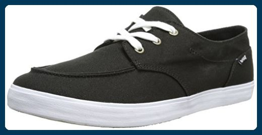 Reef GIRLS DECKHAND 2 BLACK, Damen Sneakers, Schwarz (BLACK / BLA), 40 EU (7) - Sneakers für frauen (*Partner-Link)