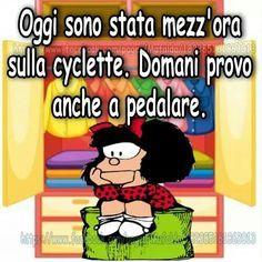 Mafalda: Cyclette!