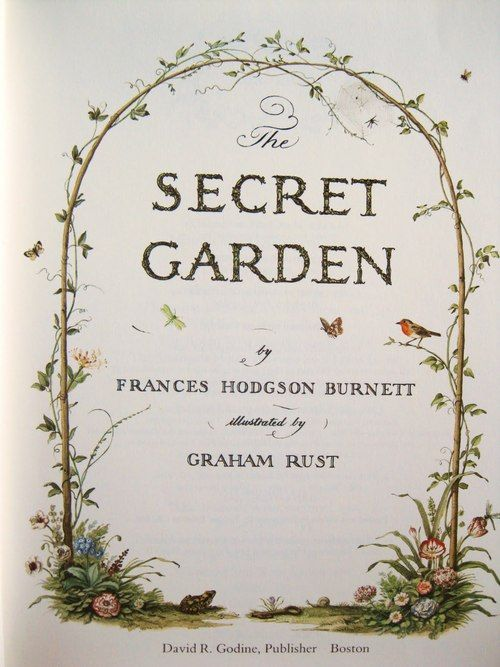 When Mary Lennox was sent to Misselthwaite Manor to live with her uncle everybody said she was the most disagreeable looking child ever seen. It was true, too. {The Secret Garden