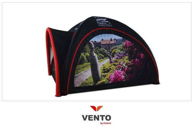 Namiot Vento z daszkiem!