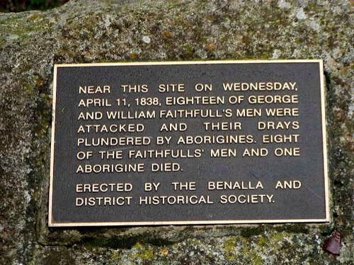 The Faithfull Massacre On this day …….. 11th of April 1838 Benalla On the 11th of April of that year a party of some 18 men, in the employ of George Faithful and William Faithfull, were searching out new land to the south of Wangaratta. Then, in the vicinity of, or possibly on, the present townsite of Benalla, […]