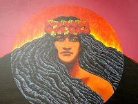 The legend of this Hawaiian Goddess is fascinating and I will share it here. But what many people do not know is that Pele appears as a spirit in many forms and she is considered a negative harbinger. Pele is connected to the Big Island of Hawaii, which was formed by volcanoes. A local legend passed down from one Hawaiians generation to the next Pele is considered the Goddess of these Volcanoes.