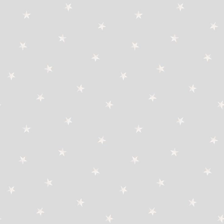 Le  papier peint gris Etoiles de la marque Lutèce apportera une touche de décoration à la chambre de votre enfant.
