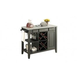 Jysk.ca - LEIF KITCHEN ISLAND W/GRANITE