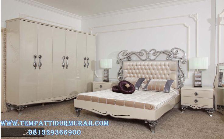 Tempat Tidur Minimalis Ukir Simple