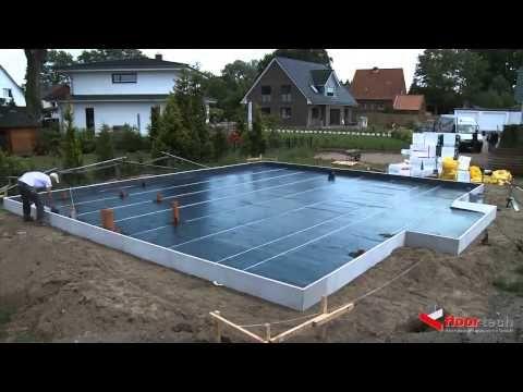 Утеплённая шведская плита. Фундаменты // FORUMHOUSE - YouTube