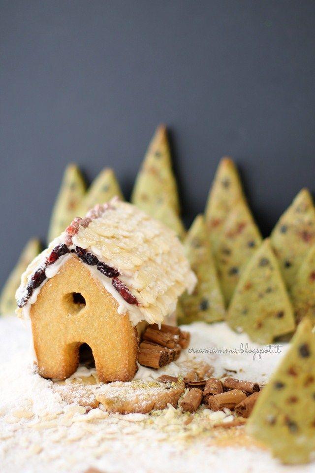 Cookies Christmas landscape