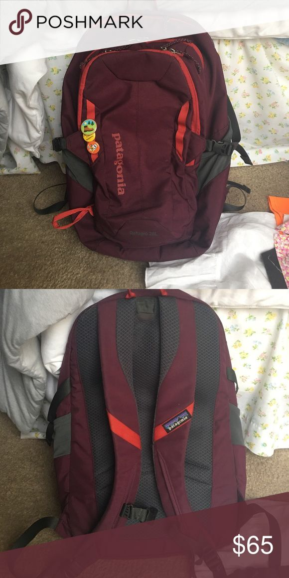 Patagonia Refugio backpack Perfect condition! Only selling because I just bought a new one Patagonia Bags Backpacks