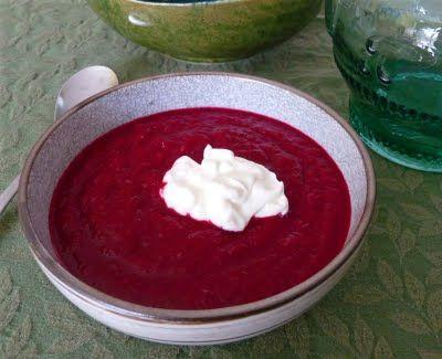 Beet & Celeriac Soup