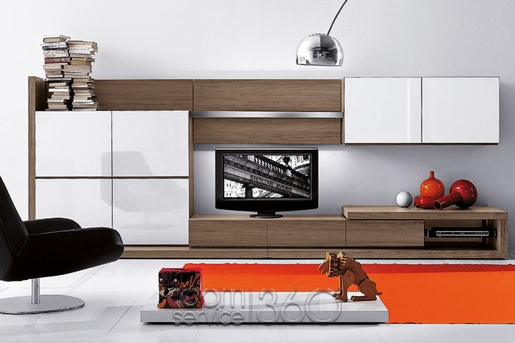 People 82 italian wall unit by pianca 17842 furniture for Wall pictures for living room ireland