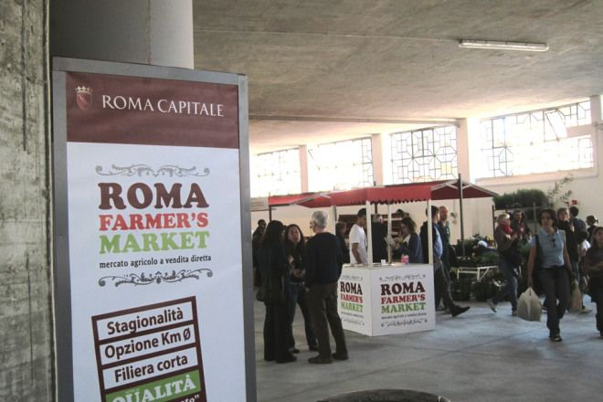 Farmer's Market Garbatella - Interno