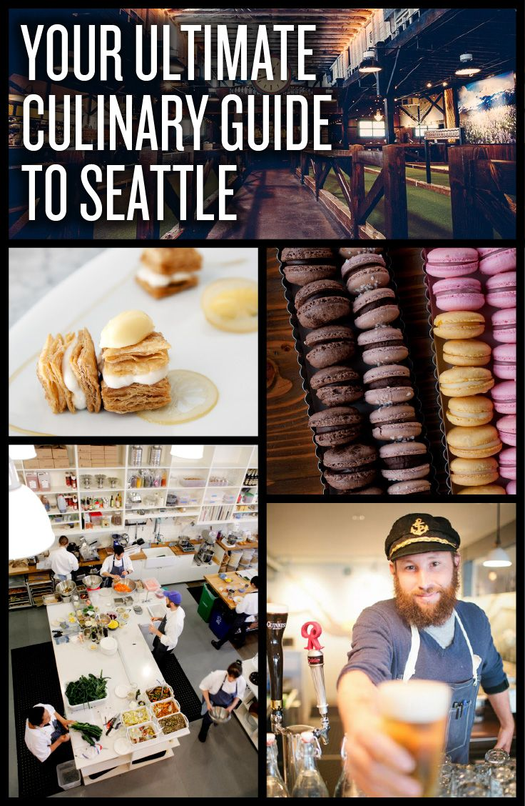Where to eat, drink and shop in Seattle right now.
