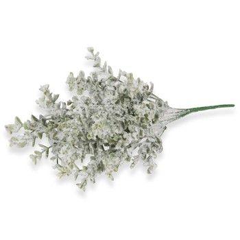 Bouquet artificiel eucalyptus enneigé