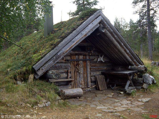 Tupa sod roof cabin