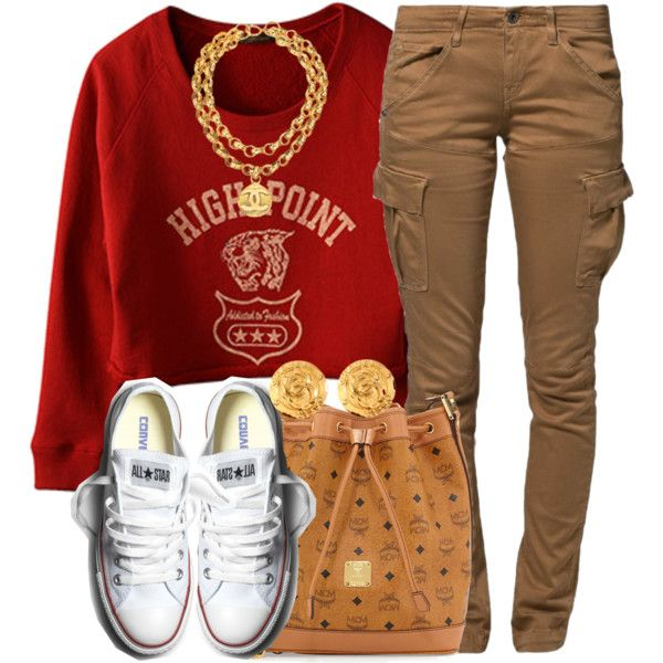 A fashion look from October 2014 featuring D'Artagnan sweatshirts, G-Star Raw pants and MCM handbags. Browse and shop related looks.