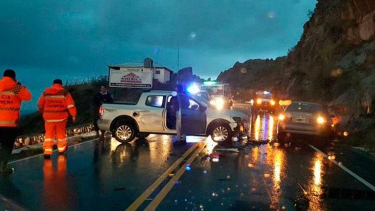 Un auto desbarrancó en las Altas Cumbres: hay dos muertos | ElDoce.tv