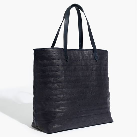 Madewell quilted Transport Tote
