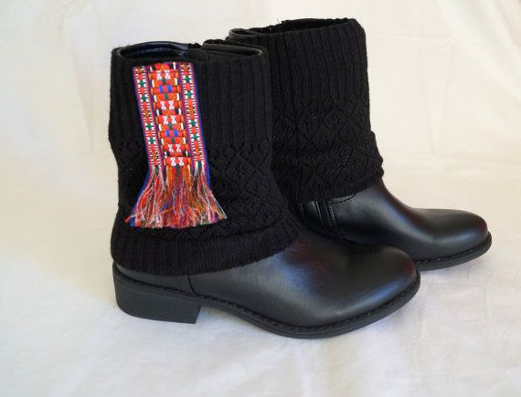 Boot covers-Native american boot cuffs-Gypsy boot by bstyle