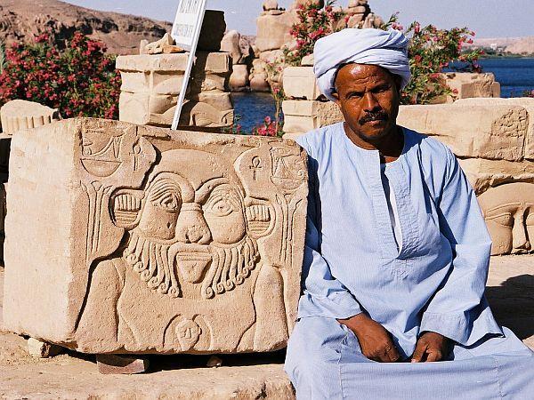 Egipt, Asuan, wyspa File