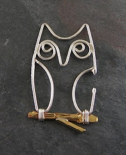 I must try this technique - wire Owl