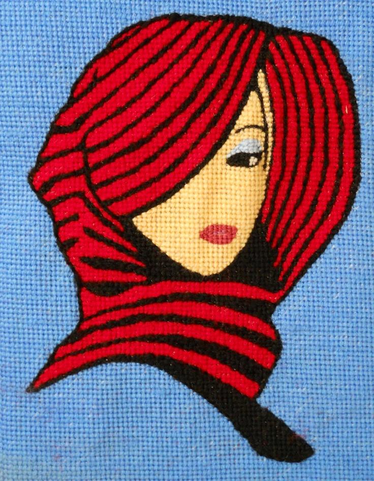 Needlepoint art on canvas created by Paul Tartanella  LTA279  paulcsrr@verizon.net