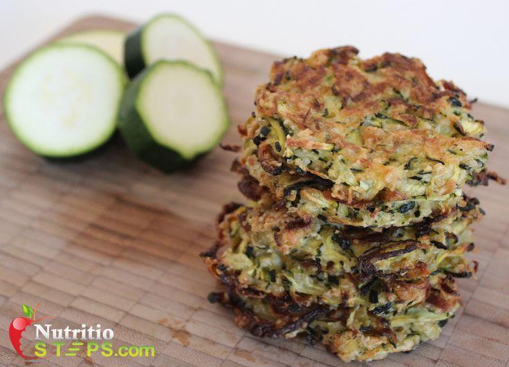 Paleo Healthy Squash / Zucchini Fritters