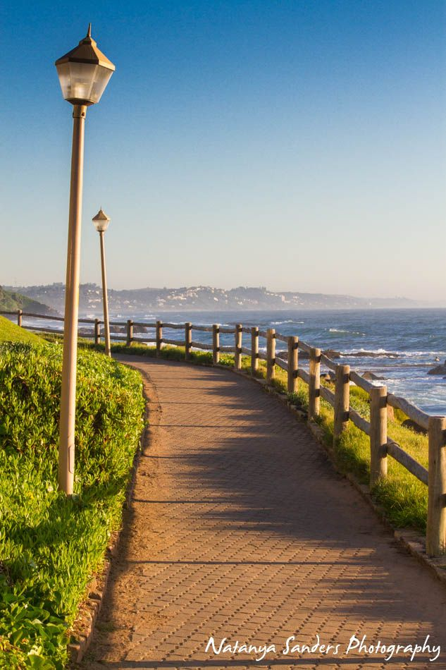 Willard Beach, Promenade, Ballito, KZN, South Africa  http://www.facebook.com/NatanyaSandersPhotography  #beach #landscape #photography #promenade #light #path #ballito #southafrica