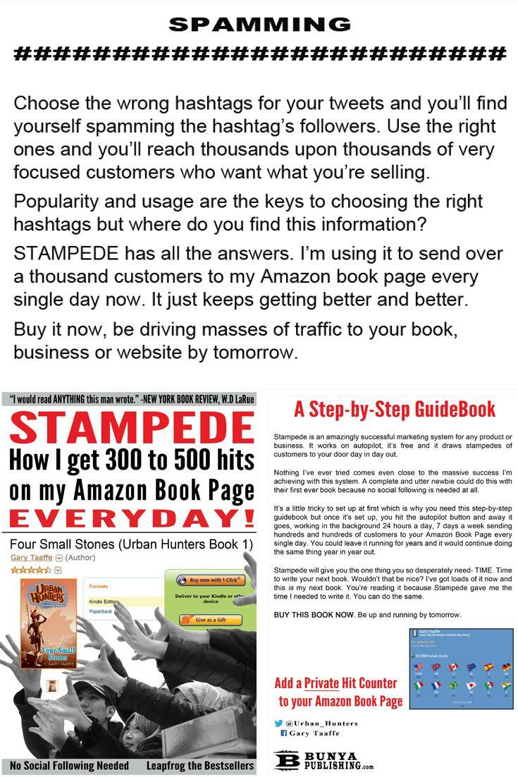 Twitter Marketing Made Easy for Authors  http://www.amazon.com/dp/0992379636/ http://bunyapublishing.com/ https://www.pinterest.com/garytaaffe/