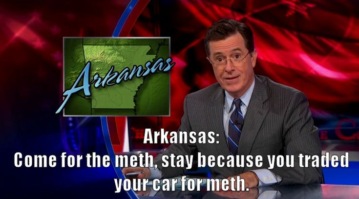 Colbert Report - From the Arkansas Tourism Board