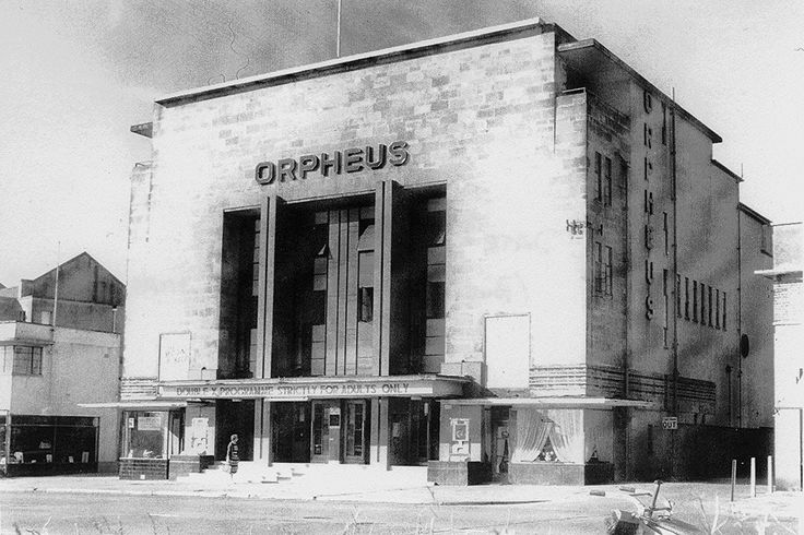 "The Orpheus Henleaze Bristol | This grand Bristol cinema demolished long ago. The site is now a Waitrose Supermarket and a small multiscreen cinema called ""The Orpheus"" in memory of the old building. The original cinema was opened on February 28th 1938 it seated 1400. and in my opinion was the best cinema in Bristol. This shot shows the cinema not too long before closure when it was showing ""adult"" movies, the decline had begun…."