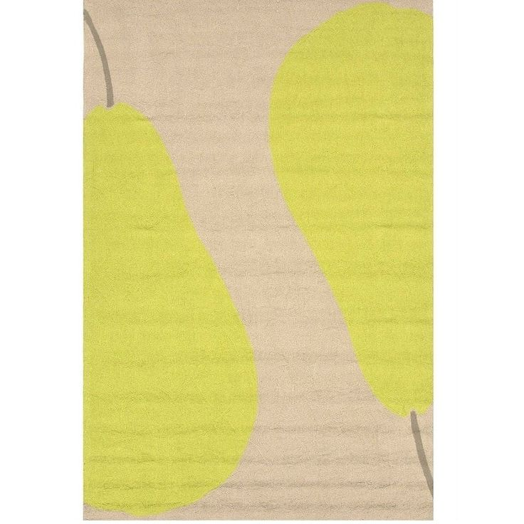 Duo Pear Modern Outdoor Rug