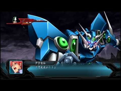 SRW OG 2nd ソウルゲイン All Attacks - YouTube