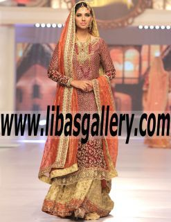 Pakistani Designer Bridal Dresses 2017|Bridal Collection|Heavy Embellished Lehenga|Online Shopping Discount 20-30%| libasgallery.com More is definitely more when it comes to Sana Abbas new found taste for the exotic.The new collection has landed at libasgallery Fashion and we can't get enough of the Traditional wonderland! www.libasgallery.com #UK #USA #Canada #Australia #France #Germany #SaudiArabia #Bahrain #Kuwait #Norway #Sweden #NewZealand #Austria #Switzerland #Denmark #Ireland…