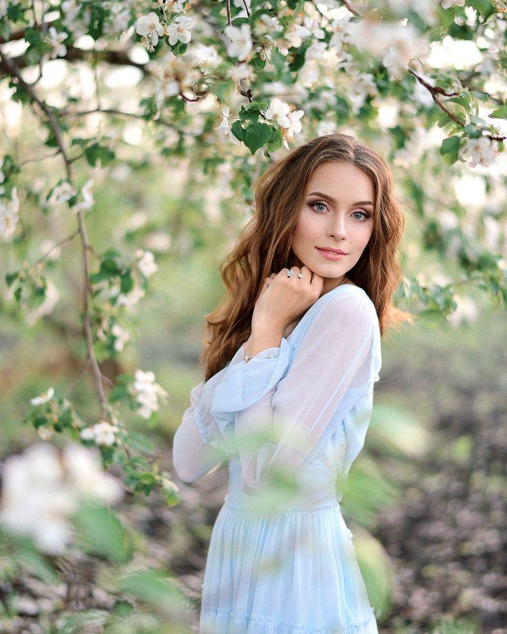 цветущие яблони фотосессия хром выпускается