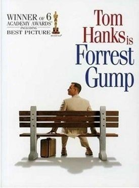 Forest gump  .... such a good movie .... he was such a nice man.
