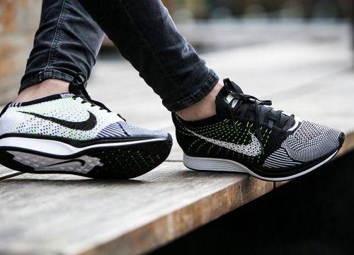 http://SneakersCartel.com Nike Flyknit Racer - Black/White/Volt (by worldbox)Available... #sneakers #shoes #kicks #jordan #lebron #nba #nike #adidas #reebok #airjordan #sneakerhead #fashion #sneakerscartel