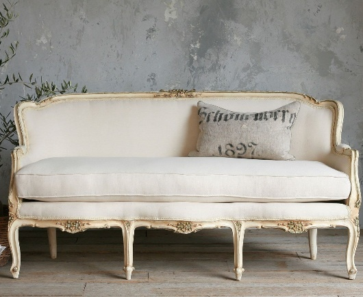 Vintage French Sofa From The Paris Apartment Home Design In 2018 Pinterest Furniture And