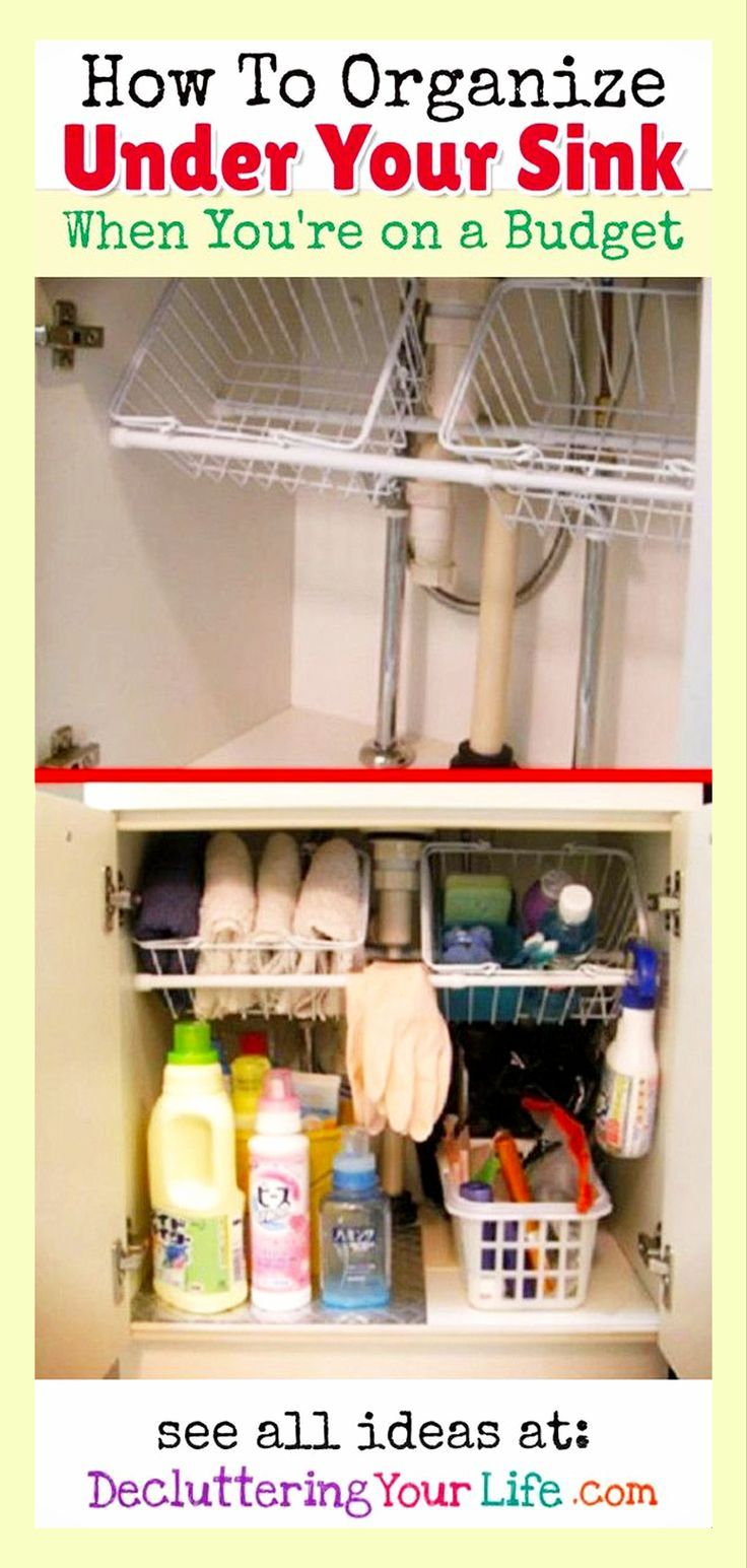 How To Organize Kitchen Cabinets On A Budget