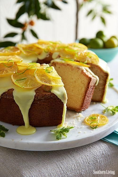 We don't mean to brag, but this is a pound cake. Lemon-Lime Pound Cake #thisishowwedoit