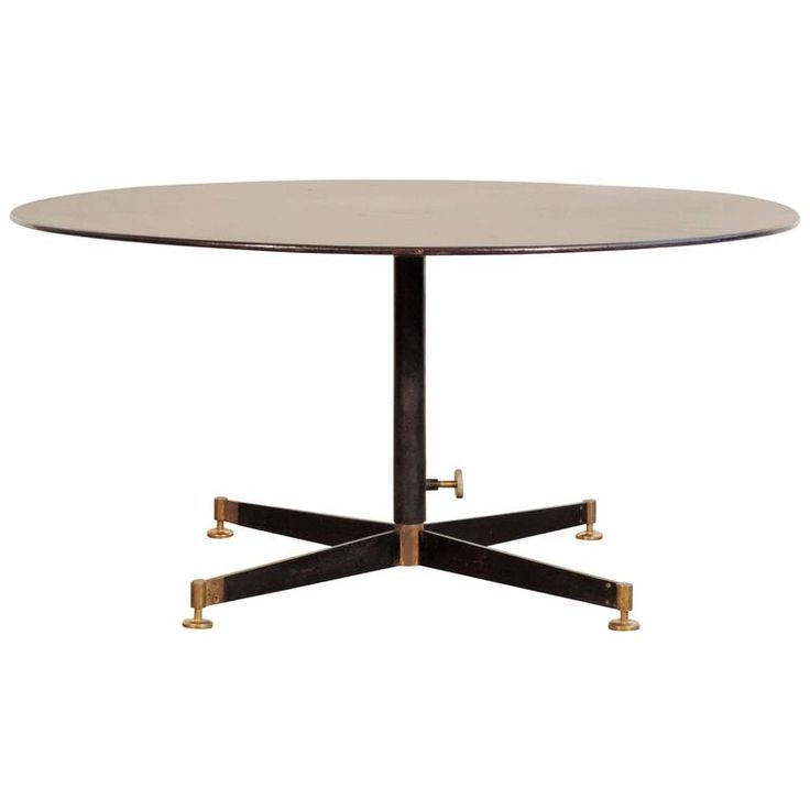 Ignazio Gardella Adjustable Low Table for Azucena | From a unique collection of…
