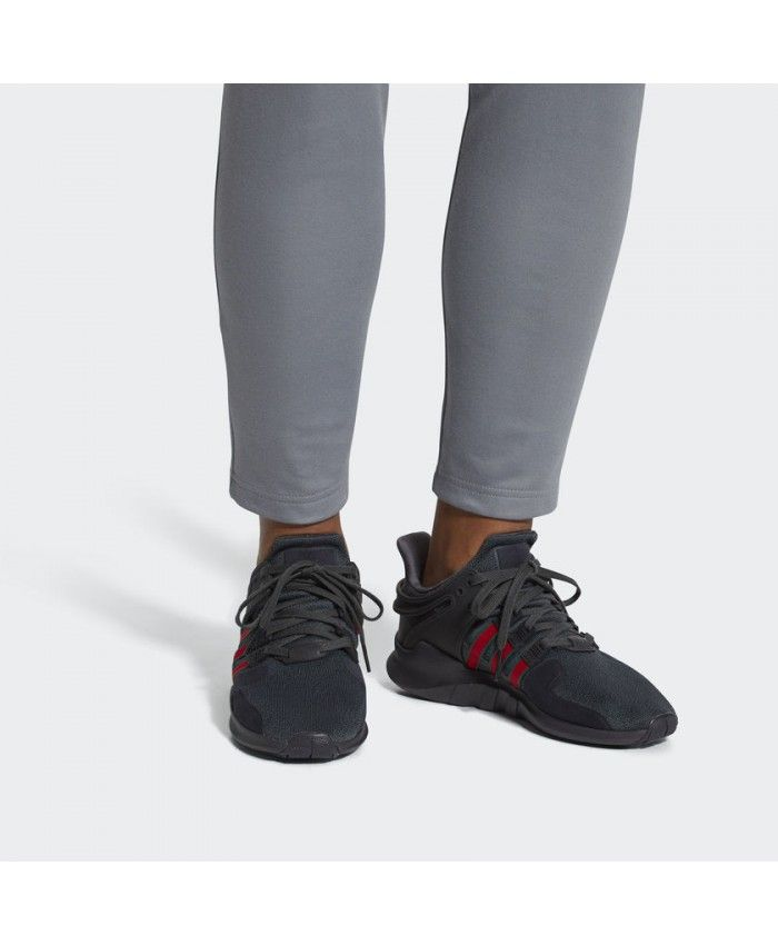820581a599ff Adidas Mens Eqt Support Adv Utility Black Red Shoes