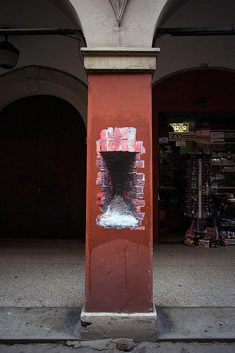 Builders (detail), new paste in Bologna | Flickr - Photo Sharing!