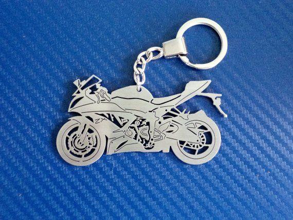Kawasaki Ninja Key Chain Ready To Ship Stainless Steel Keyring